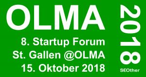 OLMA 2018 Startup Forum St. Gallen